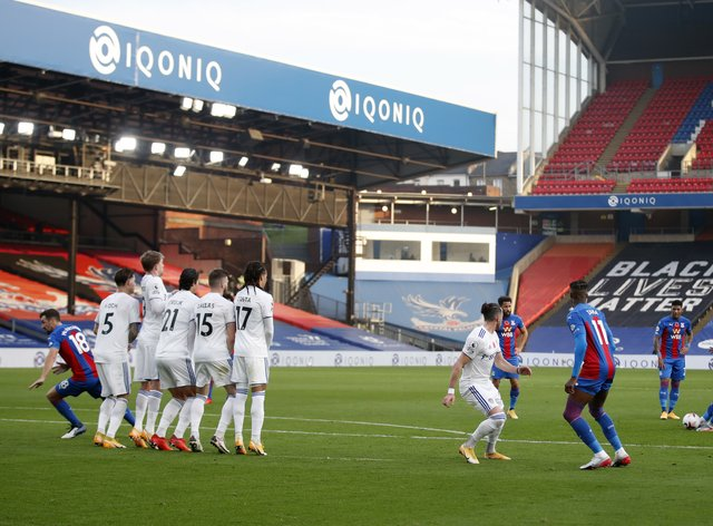 Ebere Eze scored his first goal for Crystal Palace since his £20million switch from QPR