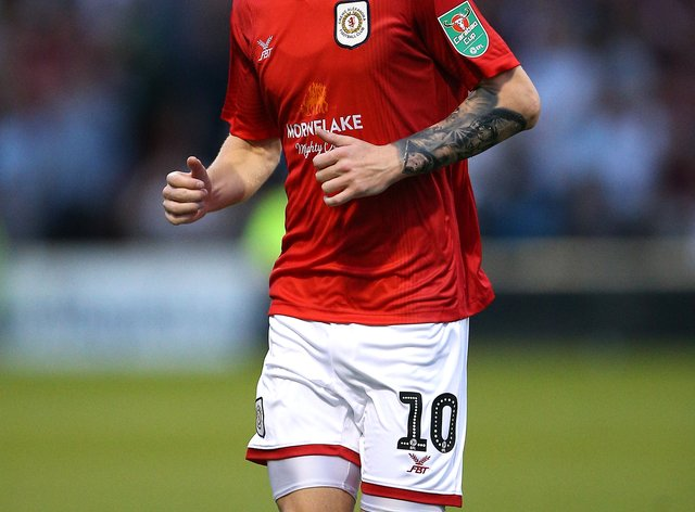 Charlie Kirk helped Crewe reach the second round