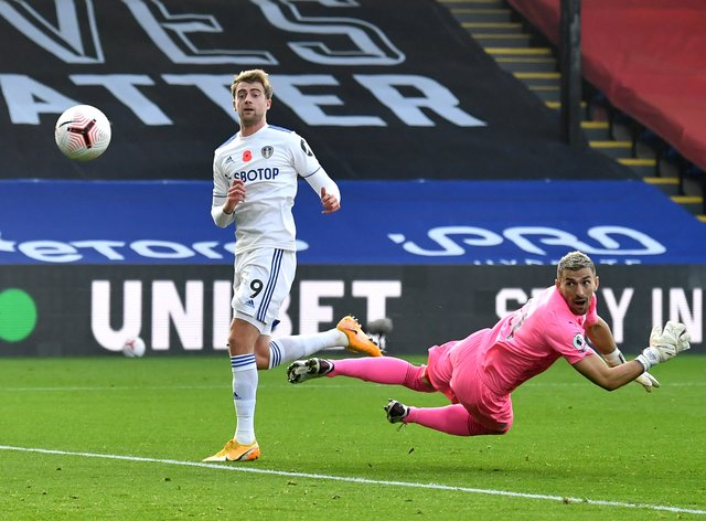 Patrick Bamford's goal was ruled out