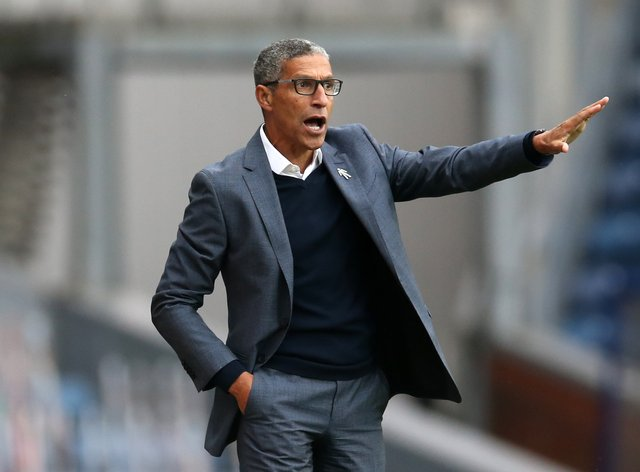Chris Hughton's side secured back-to-back wins for the first time this season