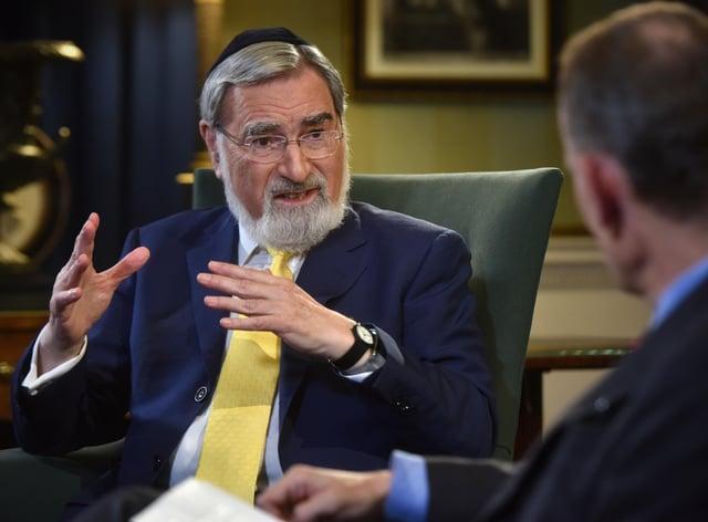 Former Chief Rabbi Lord Sacks