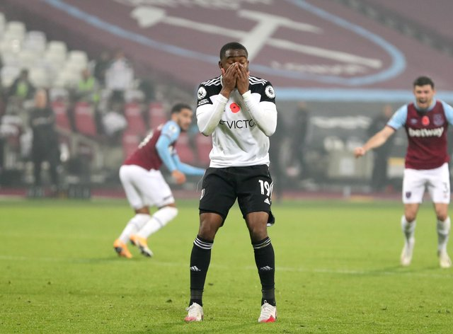 Ademola Lookman fluffed a Panenka-style penalty to earn a draw for Fulham