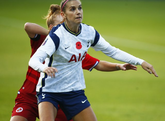 Morgan made her debut in the WSL yesterday