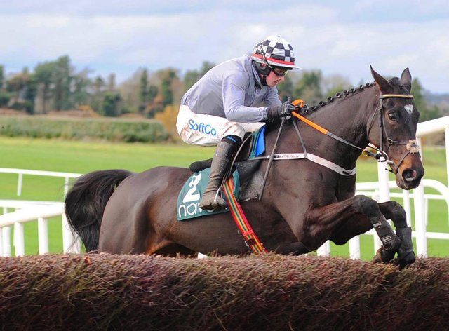 Castlegrace Paddy on his way to winning the Fortria Chase
