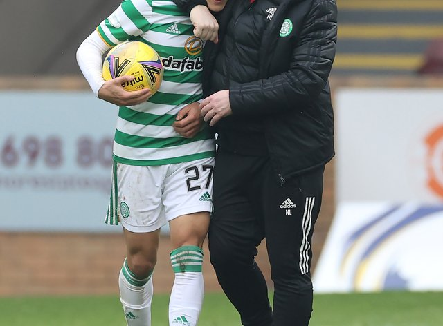 Celtic boss Neil Lennon was delighted with Mohamed Elyounoussi's hat-trick