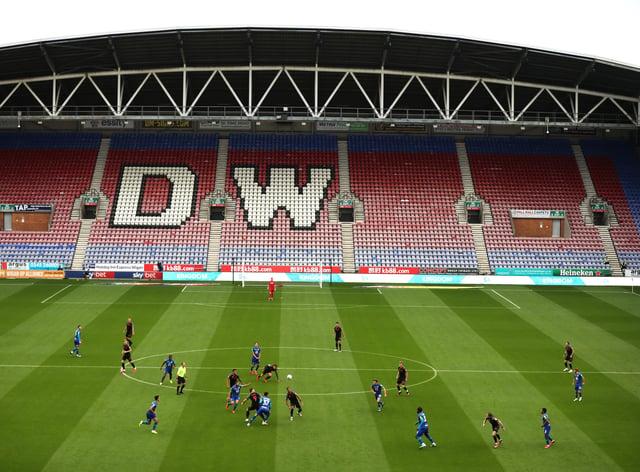 Jamie Vermiglio's Chorley won at the DW Stadium