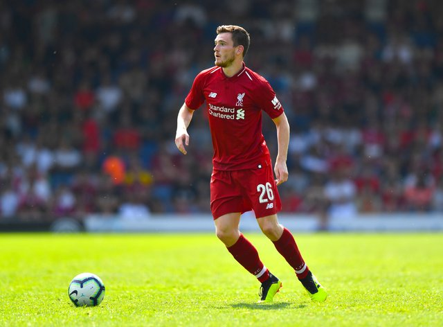 Andy Robertson feels Liverpool are doing well in difficult circumstances