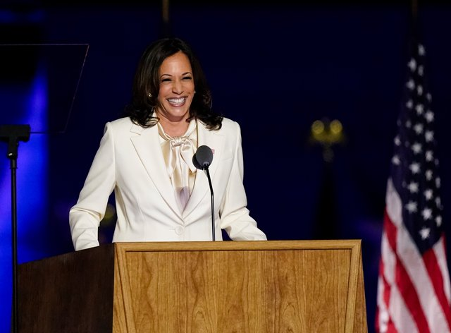 Kamala Harris is the first black and Asian-American person to be elected to the role