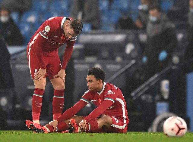 Trent Alexander-Arnold is the latest Liverpool player to be injured