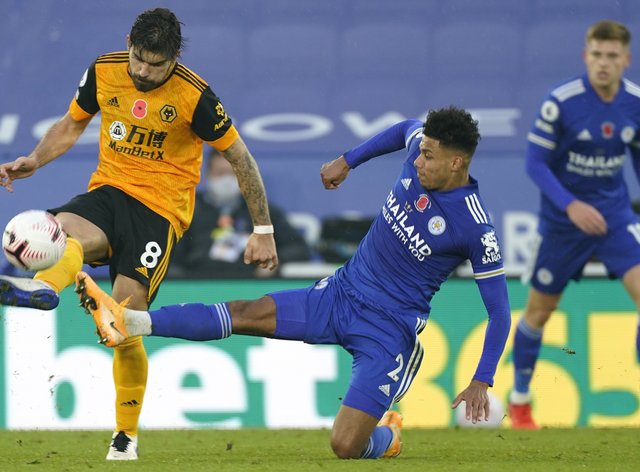James Justin (right) believes the Foxes are in a good place to cope with the demands of the schedule