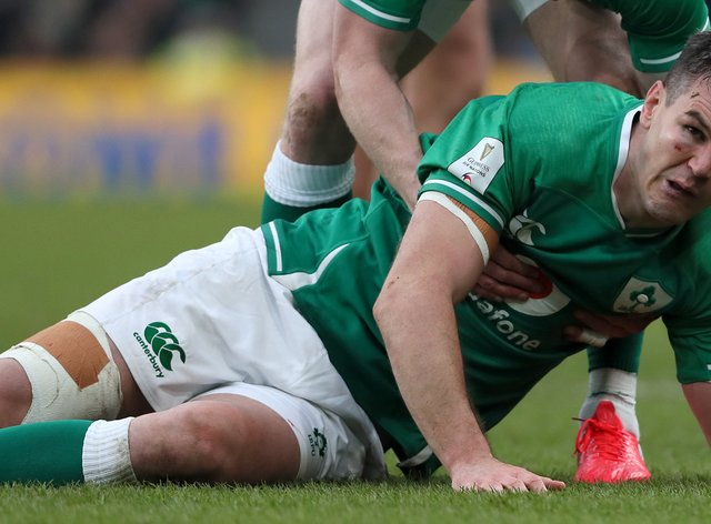 Johnny Sexton is eager to move on from Ireland's Guinness Six Nations disappointment
