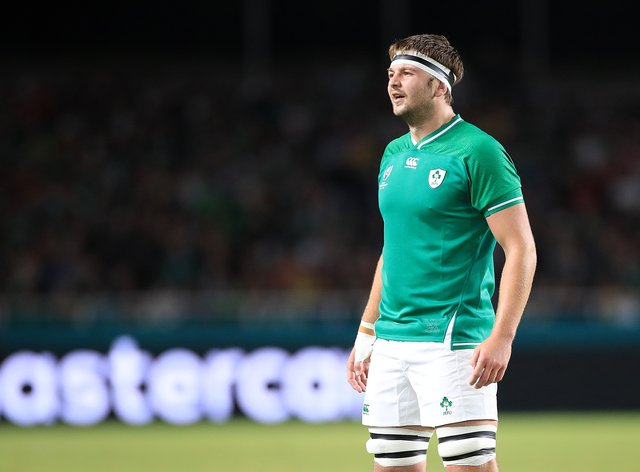Ireland lock Iain Henderson is available again following suspension