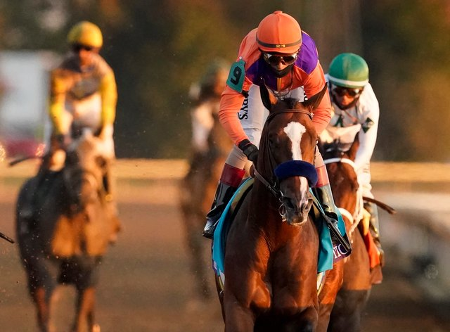 Authentic won the Breeders' Cup Classic