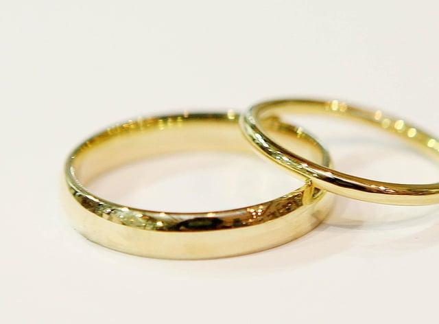 Wedding rings (Niall Carson/PA)