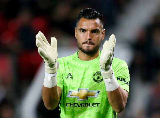 Sergio Romero's future at Manchester United remains uncertain