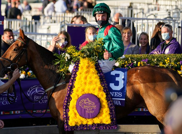 Colin Keane's win on Tarnawa at the Breeders' Cup capped a memorable year