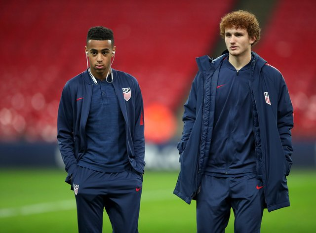 Tyler Adams says the United States plan to make a gesture of support to racial justice ahead of Thursday's friendly in Wales