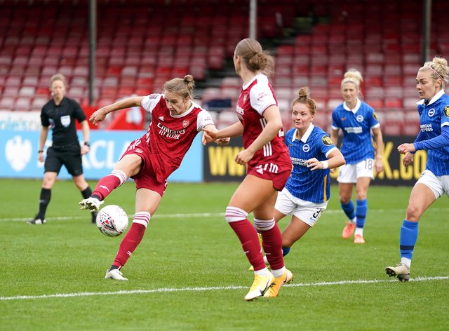 Miedema is the top scorer in the Women's Super League