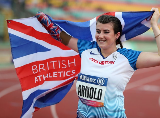 <p>Hollie Arnold is currently preparing for her stint on 'I'm a Celebrity'&nbsp;</p>