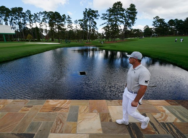 Bryson DeChambeau is favourite to win the Masters
