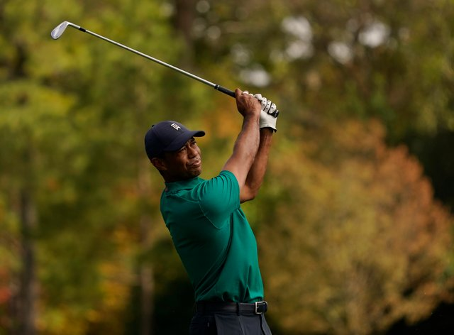 Tiger Woods became emotional as he recalled his victory in the 2019 Masters