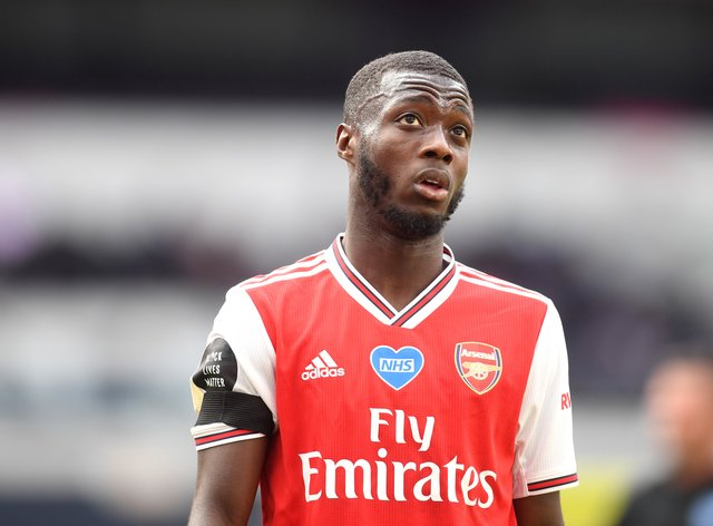 Nicolas Pepe wants more minutes on the pitch