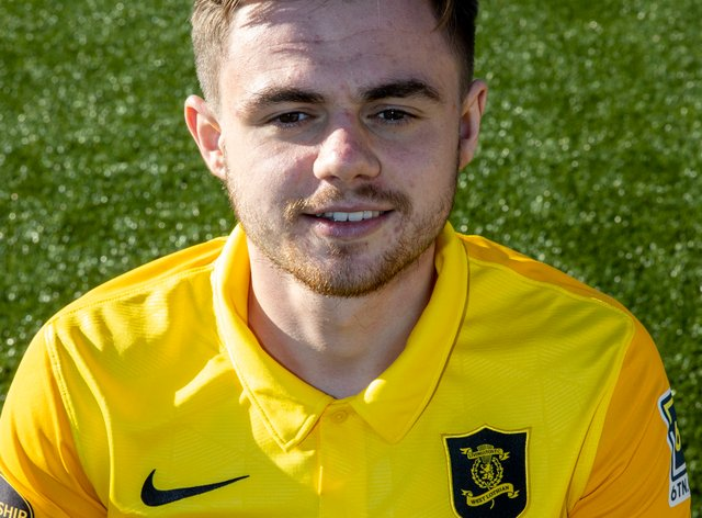 Alan Forrest's brace helped Livingston to a comfortable win at Stenhousemuir