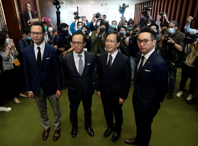 Hong Kong Lawmakers Disqualified