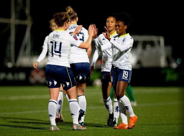 Villa have won their second Conti Cup match of the season