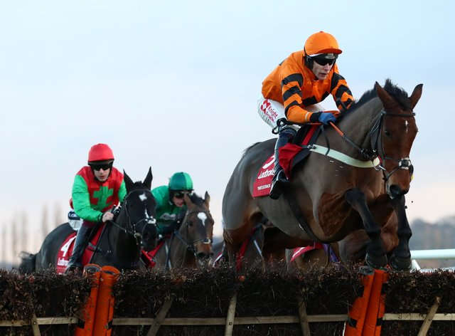 Thistlecrack could return in the Marsh Hurdle at Ascot
