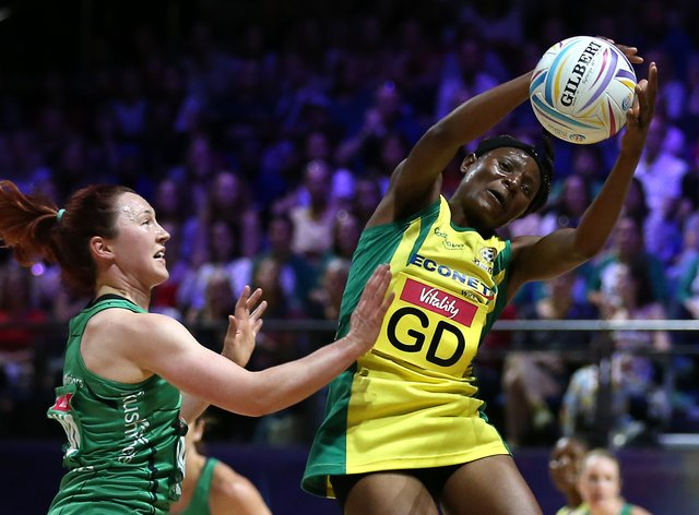 <p>Felisitus Kwangwa (right) is set to create history by competing in the VNSL</p>