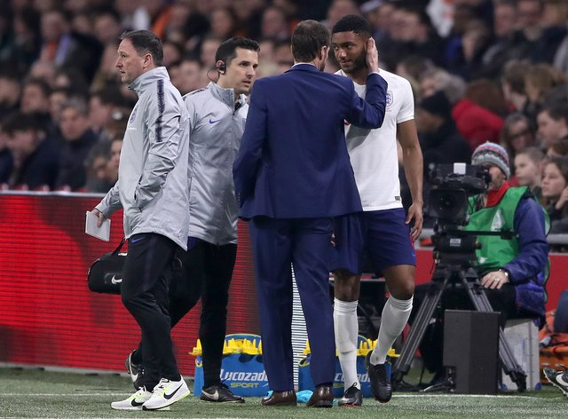 Joe Gomez has withdrawn from the England squad