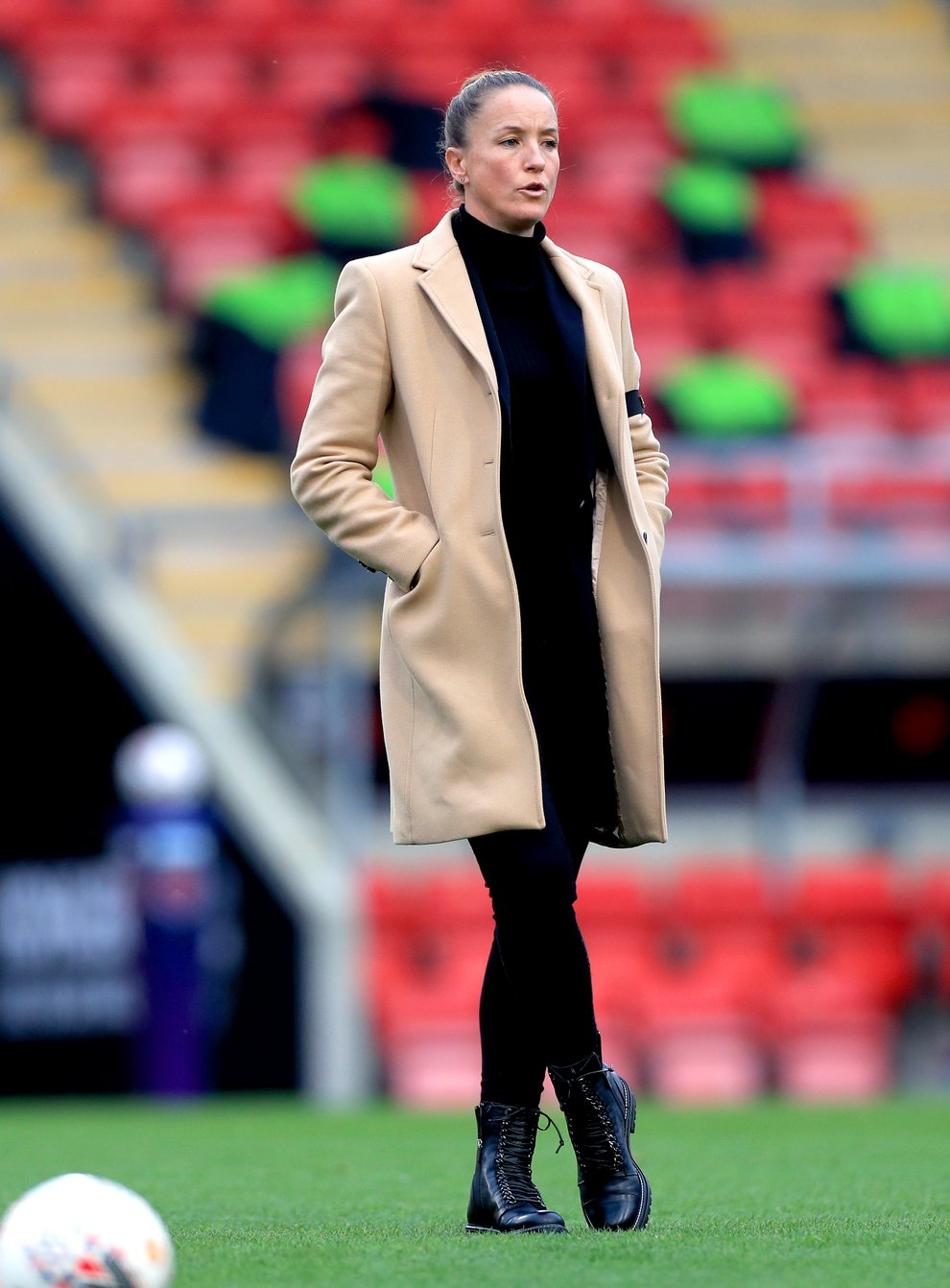 Casey Stoney believes Manchester United Women are ahead of schedule going into Saturday's derby with Manchester City Women