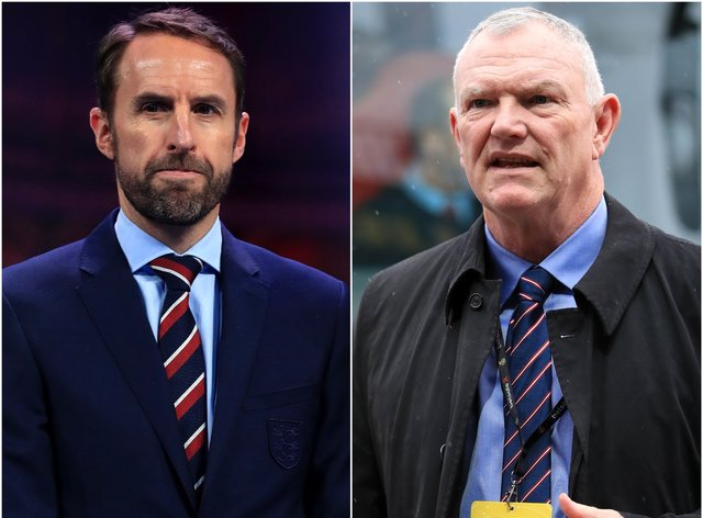 Gareth Southgate and Greg Clarke