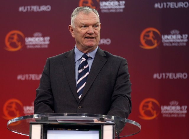 Greg Clarke has stood down from his FIFA vice-presidency