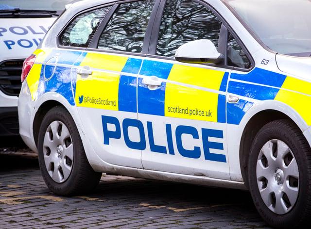 A Police Scotland car