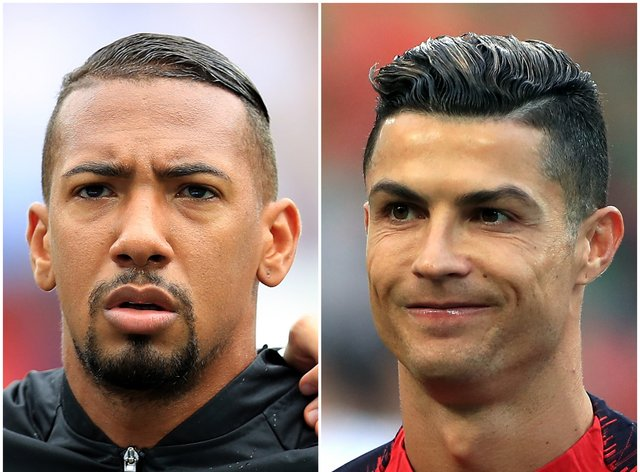 <p>Jerome Boateng and Cristiano Ronaldo are in the papers this morning</p>