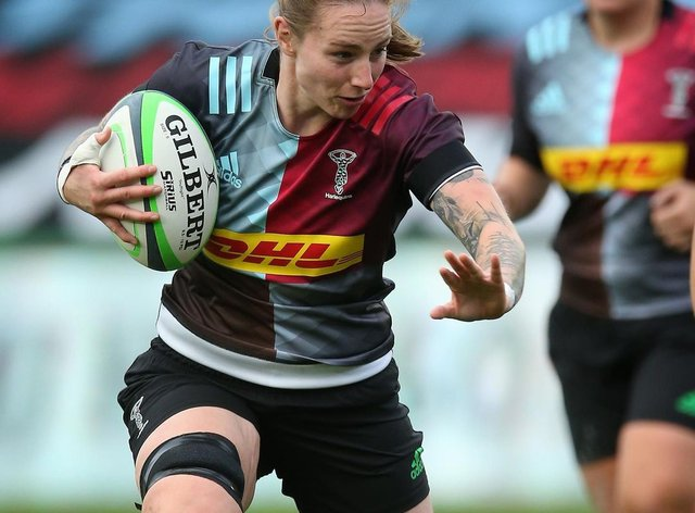 <p>Konkel scored against Sale in Quins' win at the weekend</p>