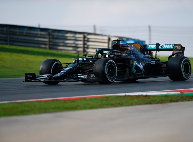 Lewis Hamilton struggled for pace in opening practice