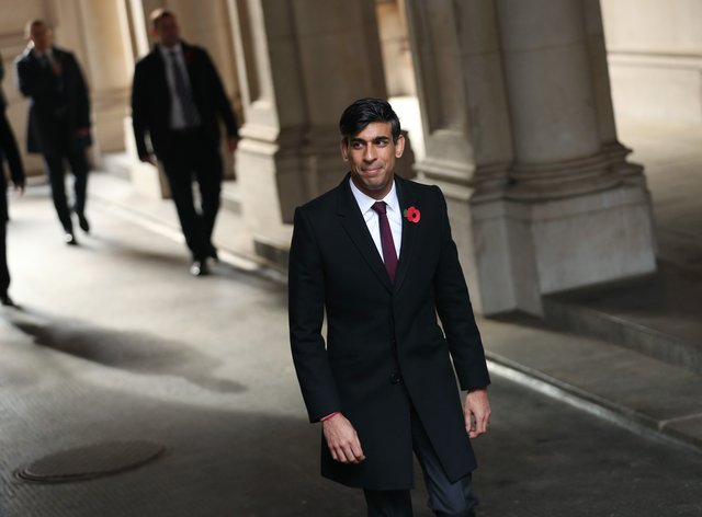 Chancellor of the exchequer Rishi Sunak has helped funnel billions of pounds in support to small businesses