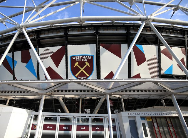 The statue will be erected at West Ham's London Stadium