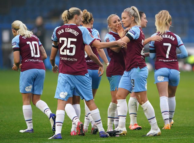 West Ham picked up their first Women's Super League win of the season last weekend
