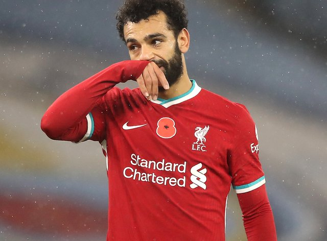 Liverpool's Mohamed Salah has tested positive for coronavirus while on international duty with Egypt