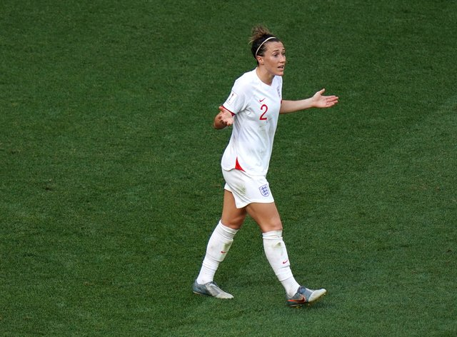 Lucy Bronze and her team-mates won't take to the field