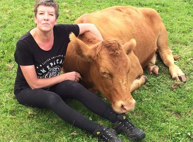 Kate Bevan, who worked at a veterinary practice, had volunteered at the farm for five years (Devon and Cornwall Police/PA)
