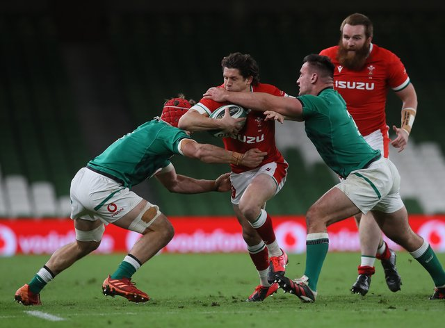 Ireland v Wales – Autumn Nations Cup – Aviva Stadium
