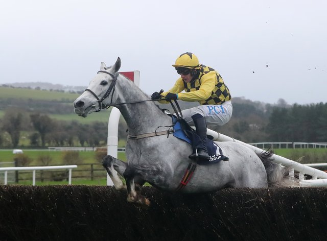 Paul Townend on board Asterion Forlonge on their way to winning at Punchestown
