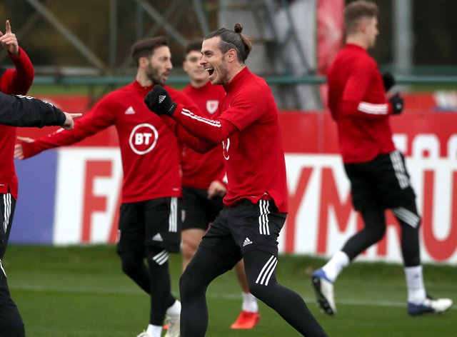 Wales Training Session – The Vale Resort – Saturday November 14th