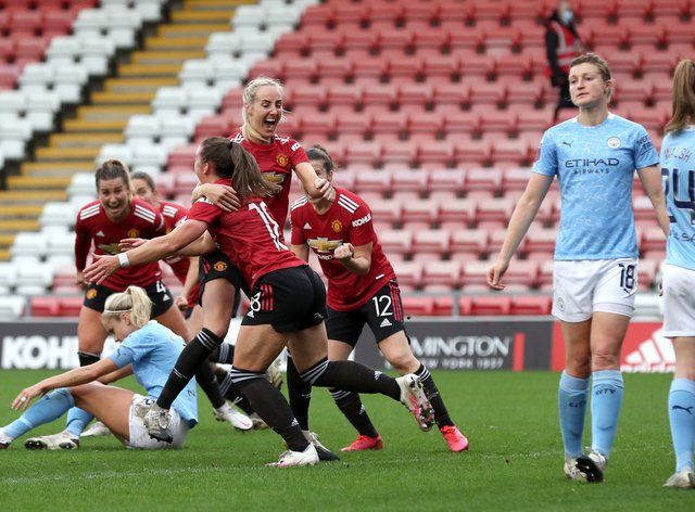 <p>Manchester United have not lost a game during the 2020/21 WSL season</p>