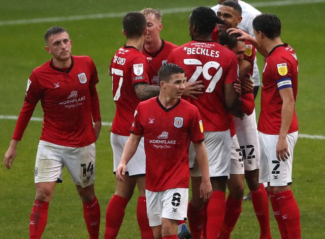 Crewe Alexandra v Peterborough United – Sky Bet League One – The Alexandra Stadium